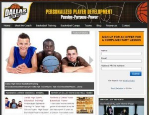 Dallas Youth BasketballTraining Website